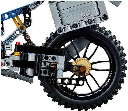 Lego 42063 Technic – BMW R 1200 GS - 2 em1 – 603 peças  - Doce Diversão