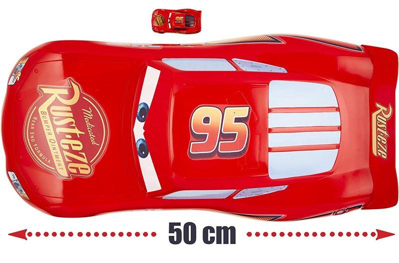 Carros 3 Disney   - Jumbo Relâmpago McQueen 50cm  - Mattel  - Doce Diversão