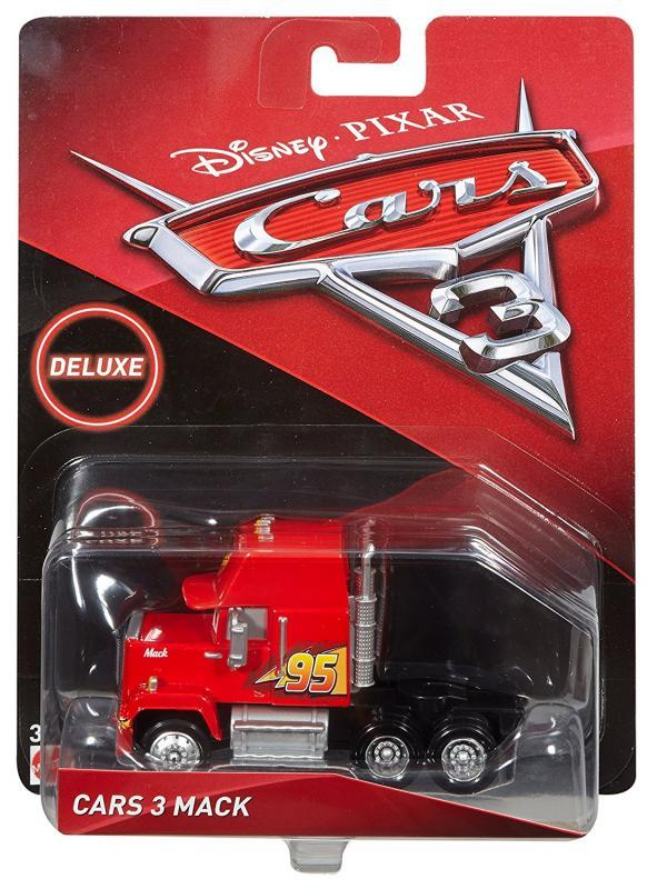 Carros 3 Disney - Die Cast  Com 1 Veículo - Mack  – Mattel  - Doce Diversão