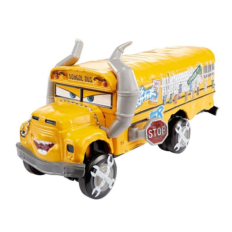 Carros 3 Disney - Die Cast  Com 1 Veículo - Miss Fritter  – Mattel  - Doce Diversão