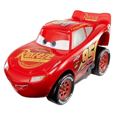 Carros 3 Disney – Corredor Veloz – Relâmpago McQueen – Mattel  - Doce Diversão