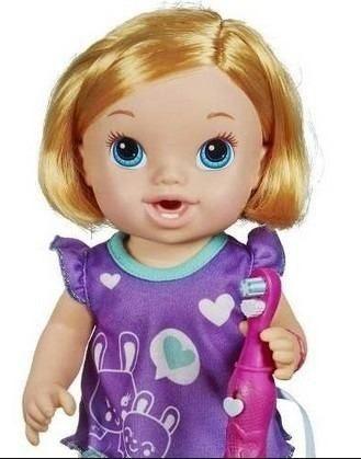 Boneca Baby Alive - Bons Sonhos Loira - Hasbro  - Doce Diversão