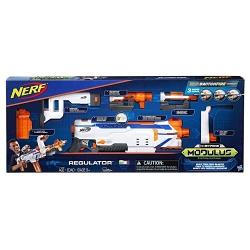 Nerf  Modulus Regulator  Motorizado  –  SwitchFire  - Hasbro  - Doce Diversão