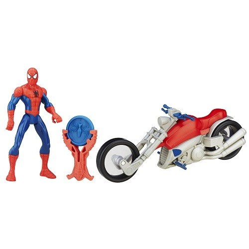 Spiderman Ultimate Sinister6  Moto + boneco  - Hasbro  - Doce Diversão