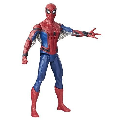 Boneco Spiderman Filme Volta ao Lar Eletronico Portugues 30 cm - Hasbro  - Doce Diversão