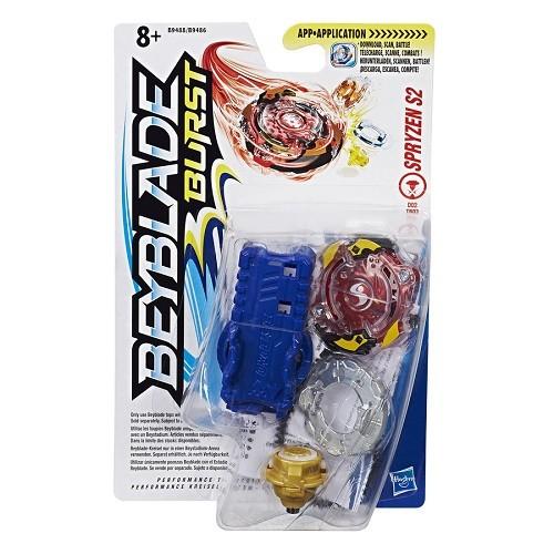 Bey Blade Burst Pião Com Lançador Ataque Spryzen S2 - Hasbro  - Doce Diversão