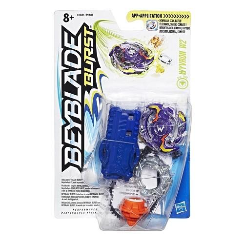Bey Blade Burst Pião Com Lançador Ataque Wyvron W2 - Hasbro  - Doce Diversão