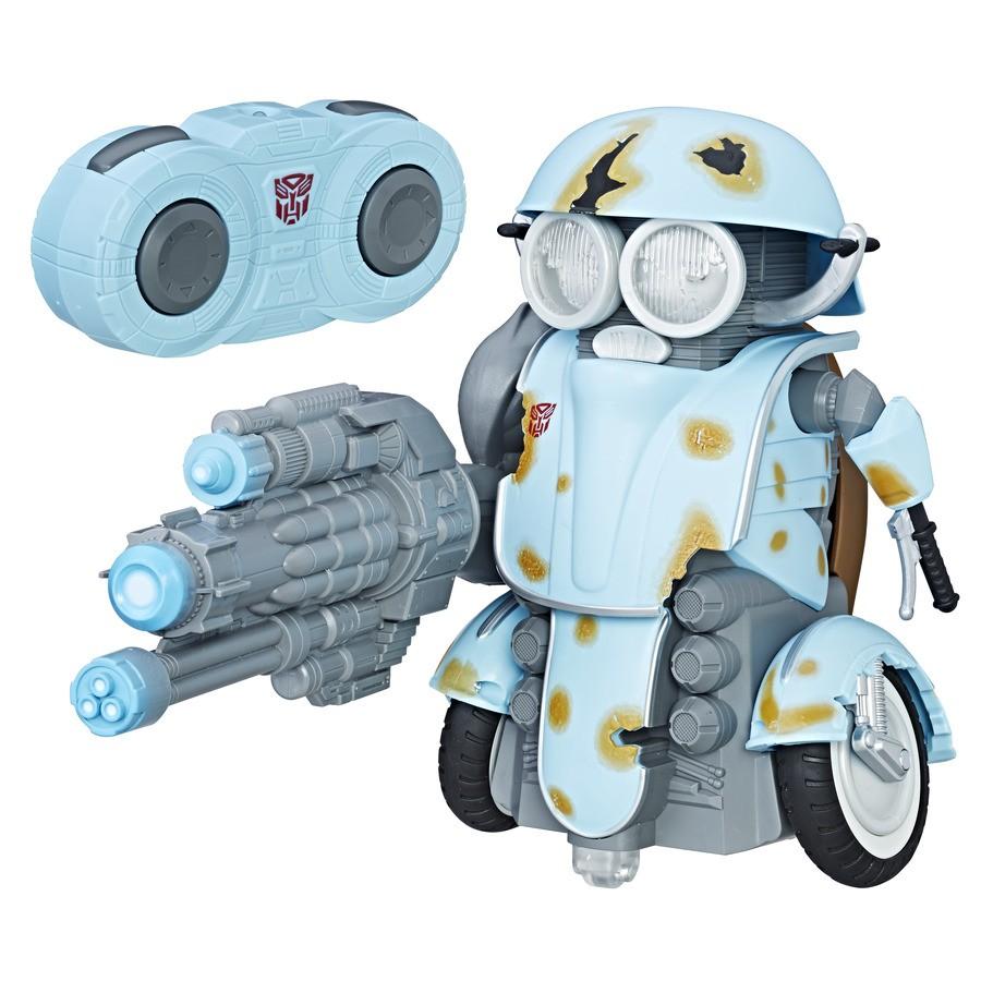 Transformers 5 Controle Remoto Robo Autobot Sqweeks C/ luz e Som - Hasbro  - Doce Diversão