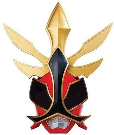 Máscara Eletrônica Power Rangers Samurai Som Megazord Sunny  - Doce Diversão
