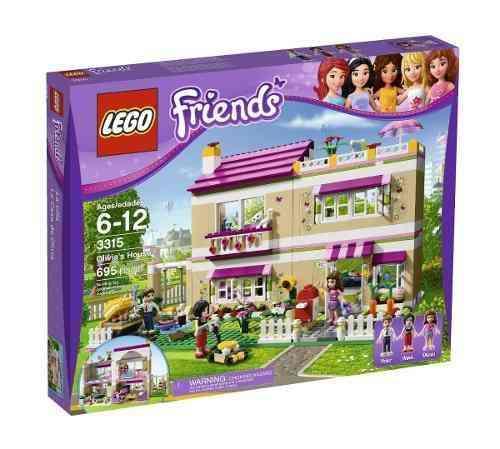 Lego 3315 - Lego Friends - A Casa Da Olivia  - Doce Diversão