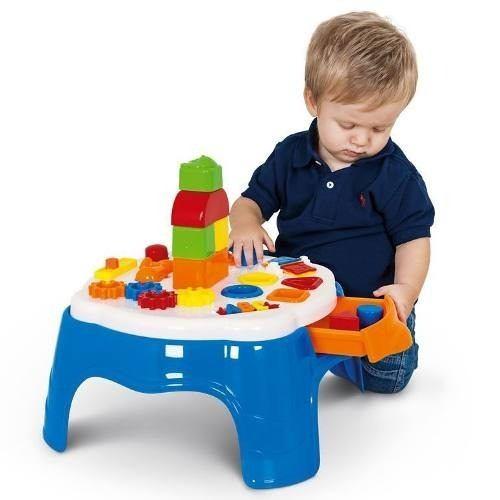Play Time Mesa De Atividades - 21 Cm  - Cotiplas  - Doce Diversão