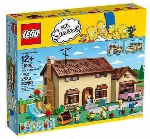 Lego 71006 - Lego Simpsons - A Casa Dos Simpsons -2523 Peças  - Doce Diversão