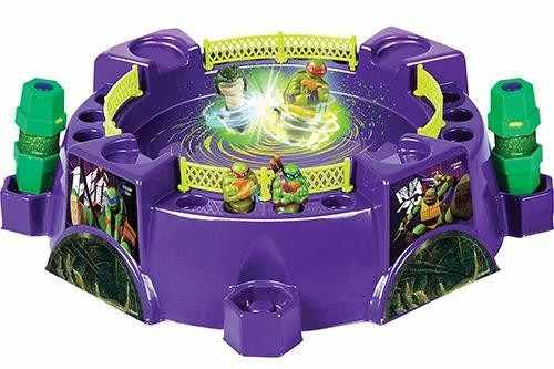 Spin Strikers Mega Arena De Batalha Tartaruga Ninjas - Dtc  - Doce Diversão