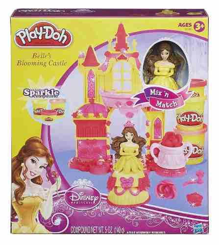 Play Doh - Disney Castelo Magico Princesas Bela - Hasbro  - Doce Diversão