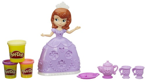 Play Doh - Disney Festa Do Chá Princesas Sofia - Hasbro  - Doce Diversão