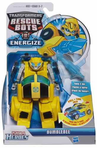 Transformers Rescue Bots Energize Bumblebee 15cm Hasbro  - Doce Diversão