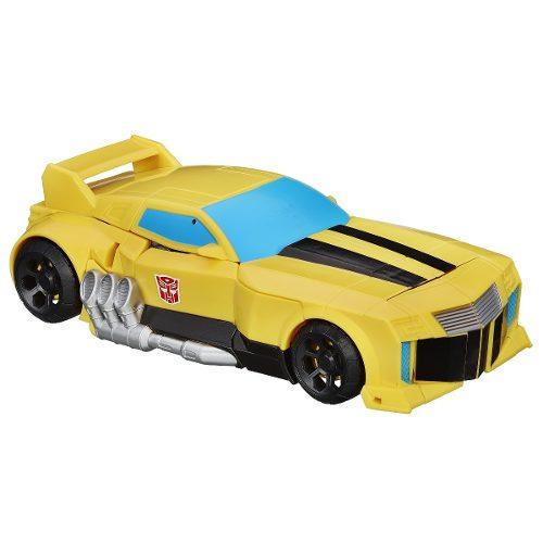 Boneco Transformers Bumblebee Mega Cyber - 26cm - Hasbro  - Doce Diversão
