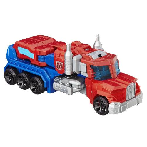 Boneco Transformers Optimus Prime Mega Cyber - 26cm - Hasbro  - Doce Diversão