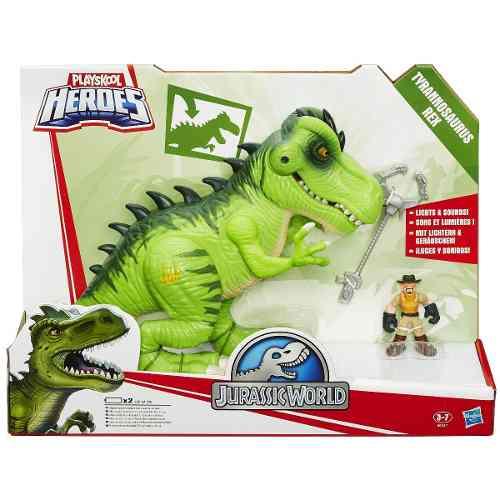 Playskool Jurassic World - Tyranosaurus Rex ( T Rex ) Hasbro  - Doce Diversão
