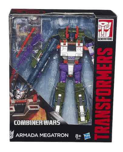 Transformers Generations Leader - Armada Megatron - Hasbro  - Doce Diversão