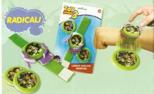 Lança Discos Radical Toy Story C /12 Cartelas  - Doce Diversão
