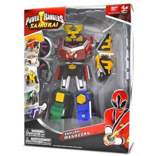 Boneco Power Rangers Samurai Megazord - Bandai / Sunny  - Doce Diversão