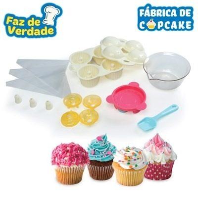 Fabrica De Cupcake - Faz De Verdade - Estrela  - Doce Diversão