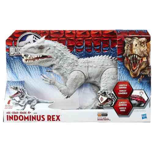 Jurassic World - Indominus T-rex Eletrônico Muda Cor- Hasbro  - Doce Diversão
