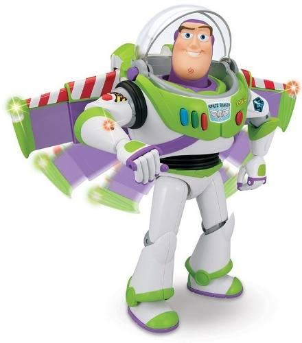 Boneco Buzz Lightyear  Interativo Fala 55 Frases - Toyng  - Doce Diversão