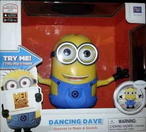 Meu Malvado Favorito 2 Dancing Dave Reage A Sons - Toyng  - Doce Diversão