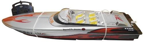 Barco  Com Controle Remoto Aqua Deluxe Ate 25km/h - Dtc  - Doce Diversão