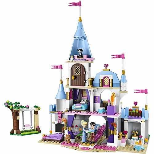 Lego 41055 - Lego Disney - O Castelo Romântico Da Cinderela  - Doce Diversão