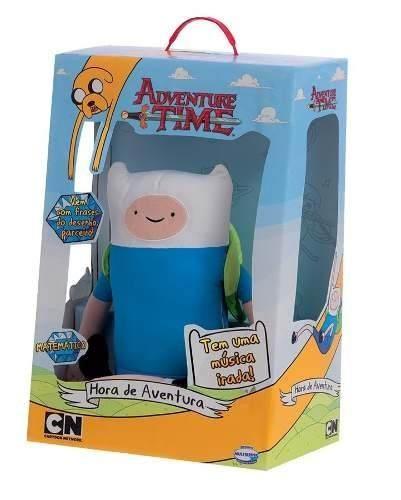 Boneco Finn Adventure Time Com Som - Multibrink  - Doce Diversão