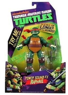 Boneco Tartaruga Ninja Com Som - Raphael  - Doce Diversão