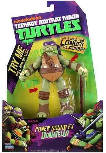 Boneco Tartaruga Ninja Com Som Multikids - Donatello  - Doce Diversão
