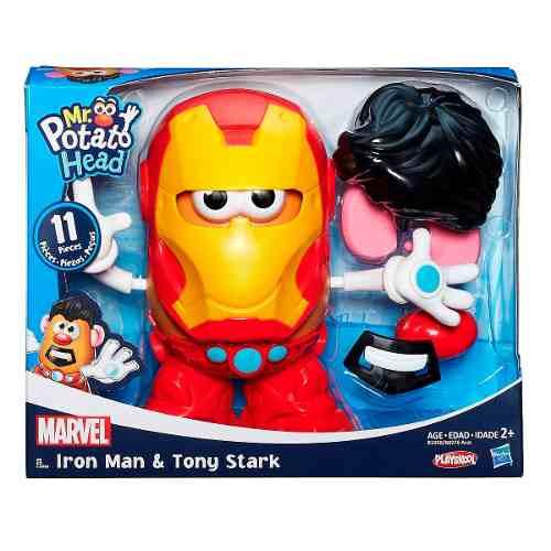 Mr Potato Head Classico Marvel - Iron Man - Hasbro  - Doce Diversão