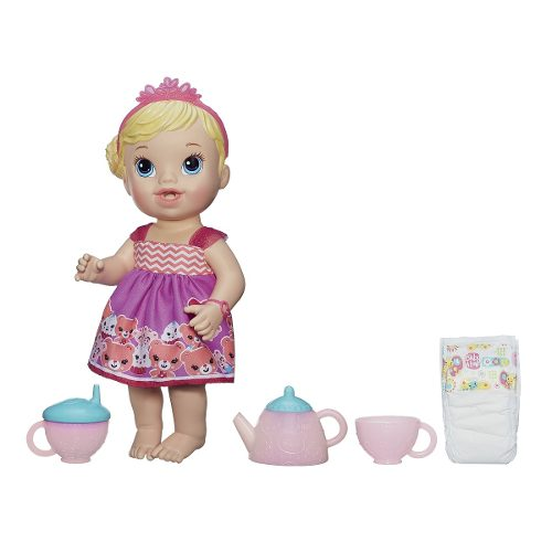 Boneca Baby Alive Chazinho Mágico Loira - Hasbro  - Doce Diversão