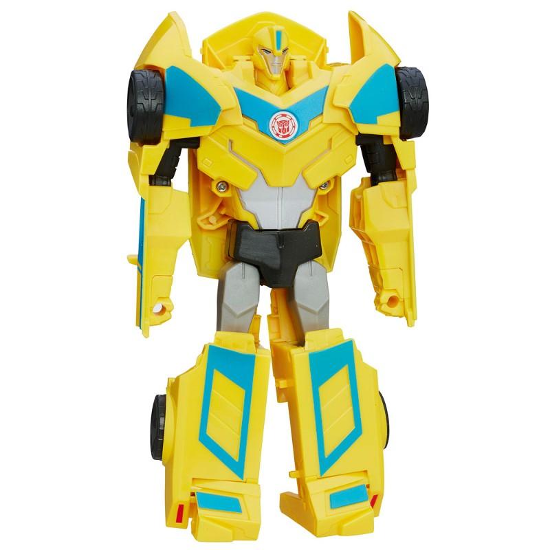 Transformers Bumblebee Indisguise Heroes 3 passos - Hasbro  - Doce Diversão