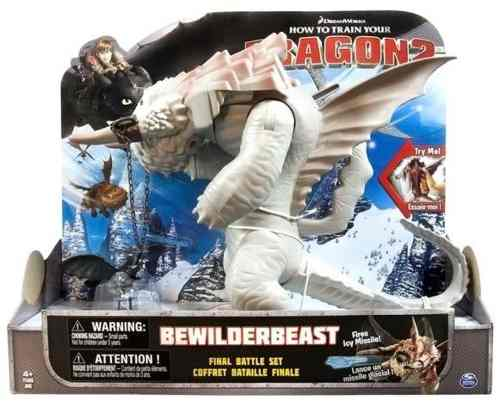 Como Treinar Seu Dragão 2 Kit De Batalha Final Bewilderbeast  - Doce Diversão
