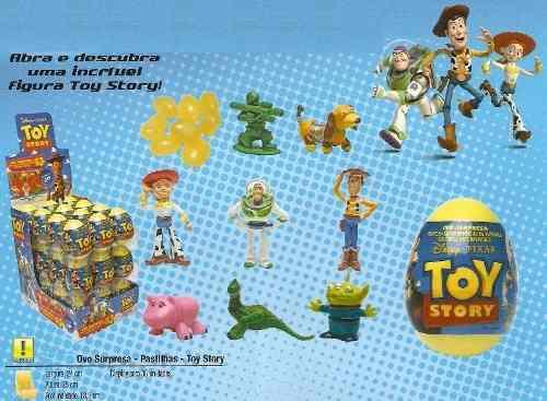 Ovo Surpresa Toy Story C/ 36 Unidades  - Doce Diversão