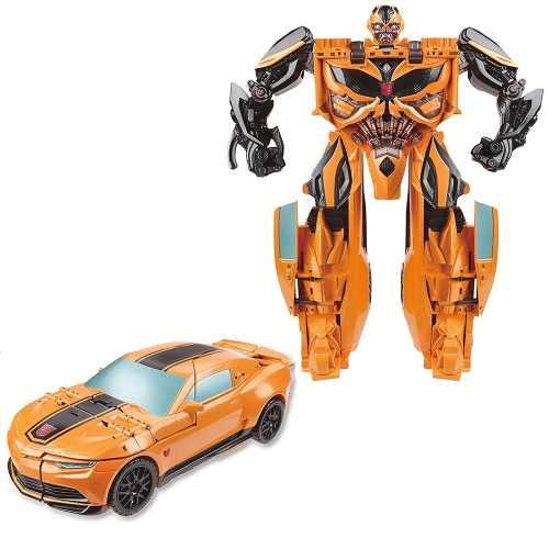 Boneco Transformers Bumblebee Mega Um Passo A7799 - Hasbro  - Doce Diversão