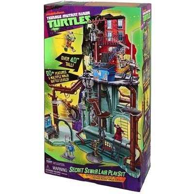 Quartel General Tartarugas Ninjas Covil Secreto Esgoto  - Doce Diversão