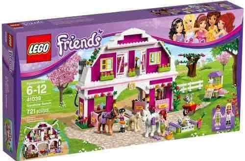 Lego 41039 - Lego Friends - Rancho De Verão  - Doce Diversão
