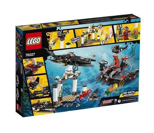 Lego 76027 - Heroes - Ataque Do Fundo Do Mar De Manta Negra  - Doce Diversão