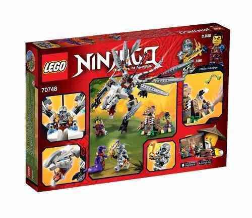 Lego 70748 - Lego Ninjago - Dragão De Titanio - 360 Peças  - Doce Diversão