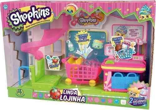Shopkins Linda Lojinha + 2 Shopkins Exclusivos - Dtc  - Doce Diversão