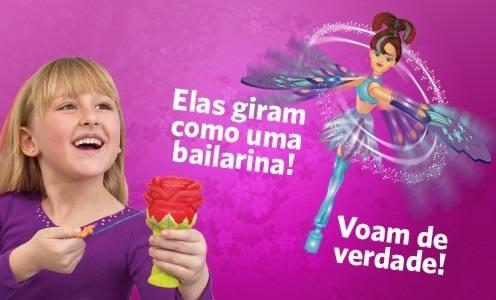 Fada / Bailarina Sky Dancers Angelica - Dtc  - Doce Diversão