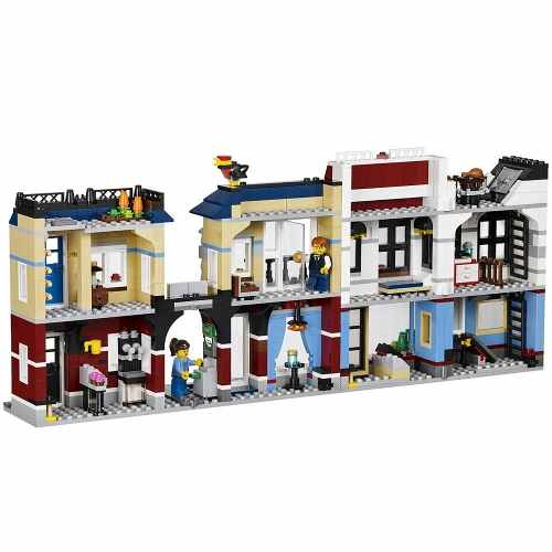 Lego 31026 - Lego Creator - Loja De Bicicletas E Café 3 Em 1  - Doce Diversão