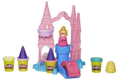 Play Doh - Disney Castelo Magico Princesas Aurora - Hasbro  - Doce Diversão