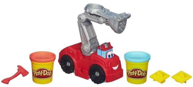 Massinha Play Doh Playset  Chuck&Friends Bombeiro - Hasbro  - Doce Diversão